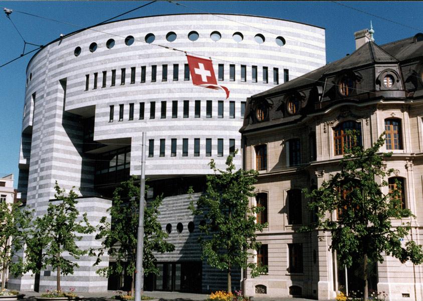 Botta Building BIS Basel