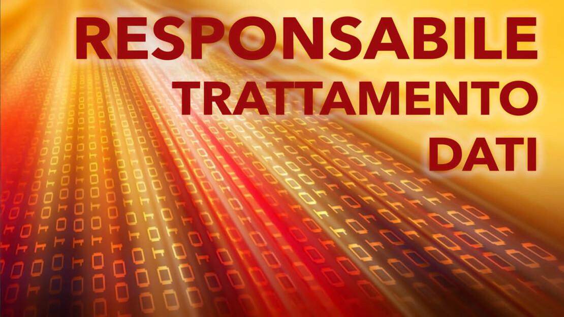 responsabile trattamento dati