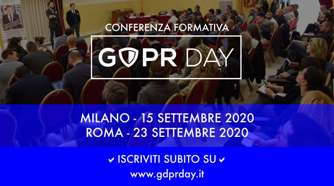 GDPR Day Milano