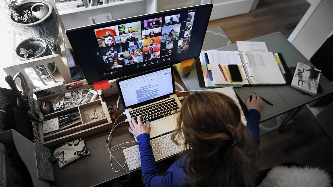 covid zoom smartworking lavoro digitale