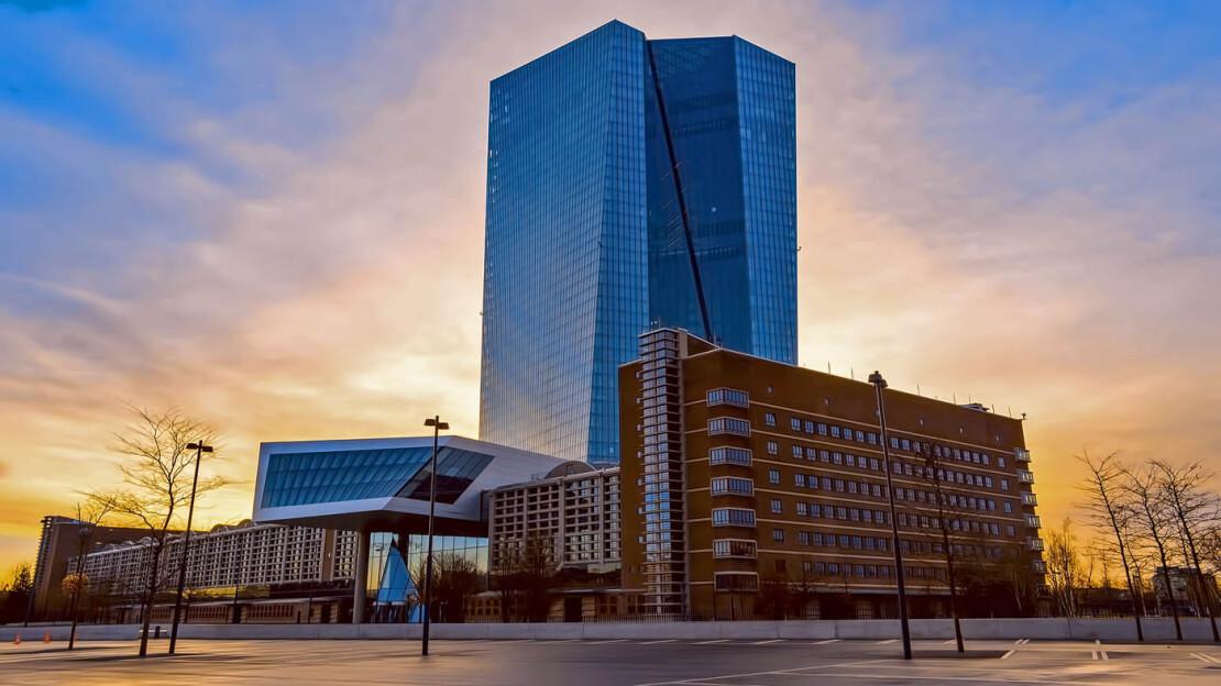 Besichtigung der Europäischen Zentralbank
