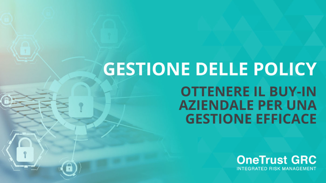 Gestione delle Policy - OneTrust GRC