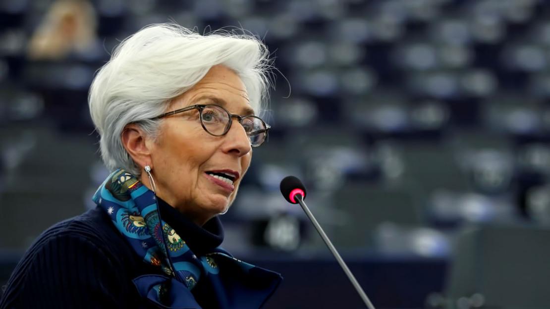 Presidente della BCE, Christine Lagarde