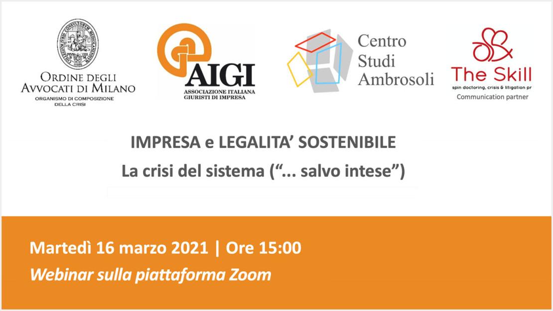 Impresa Legalità sostenibile