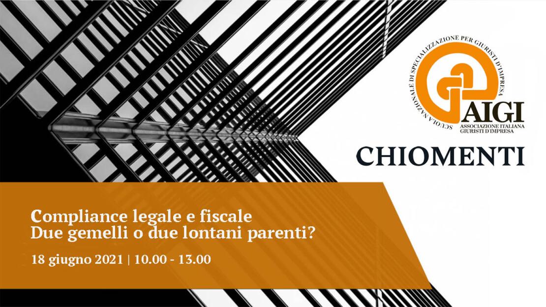 AIGI CHIOMENTI Compliance Webinar