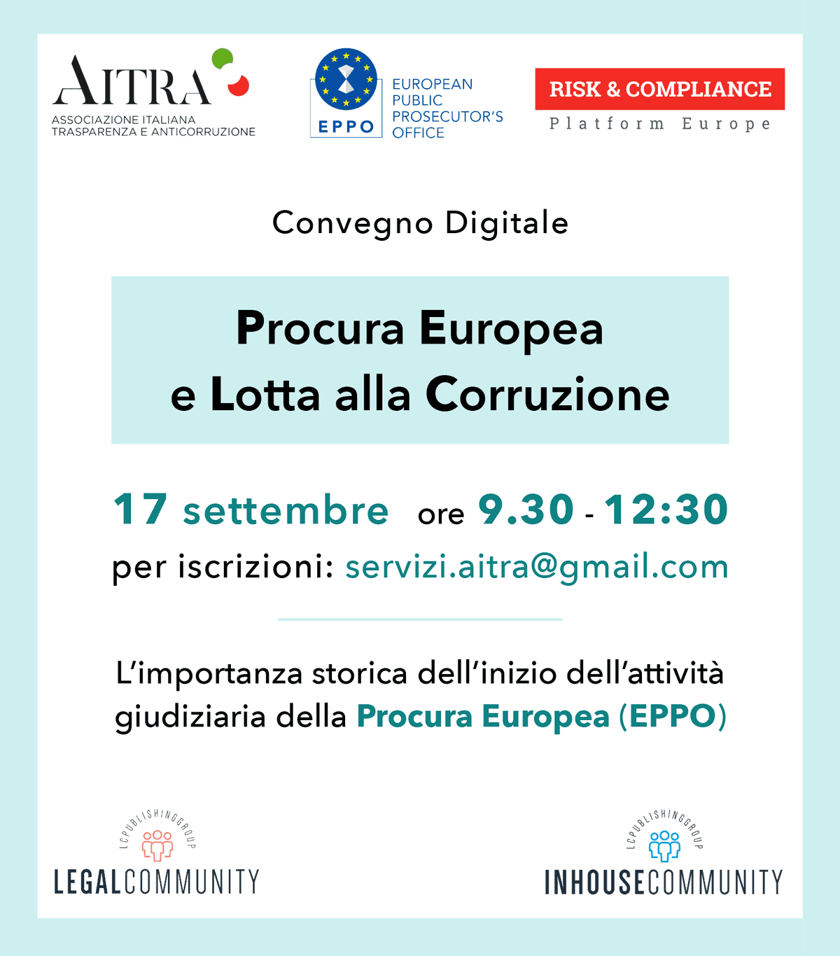 Banner Evento EPPO Laterale