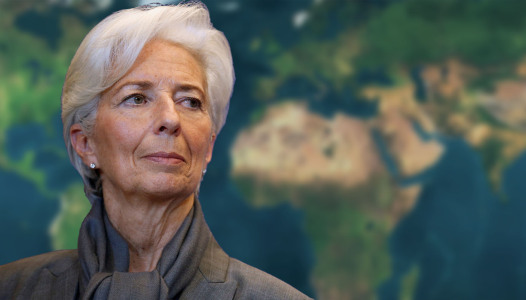 IMF Managing Director Christine Lagarde attends a news conference after a seminar on the international financial architecture in Paris