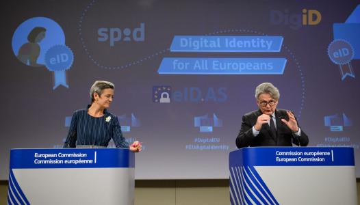Conférence de presse sur l'identification électronique publique (e-ID) fiable et sécurisée